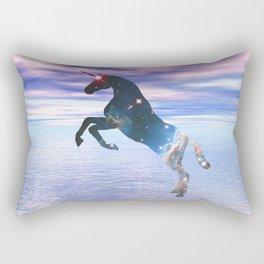 Unicorn of the stars Rectangular Pillow