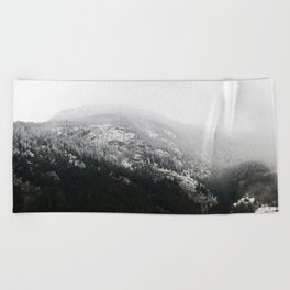 Swiss Alps - v1 Beach Towel