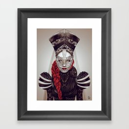 Sabela Framed Art Print
