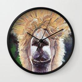 hello, Dolly llama Wall Clock