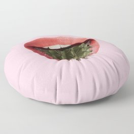 Cactus Mouth Floor Pillow