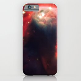 Cone Nebula, Galaxy Background, Universe Large Print, Space Wall Art Decor, Deep Space Poster Decor iPhone Case