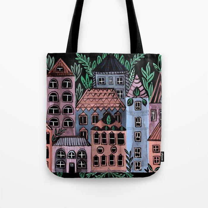 Little Street Tote Bag