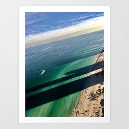 Built by the Sea Art Print