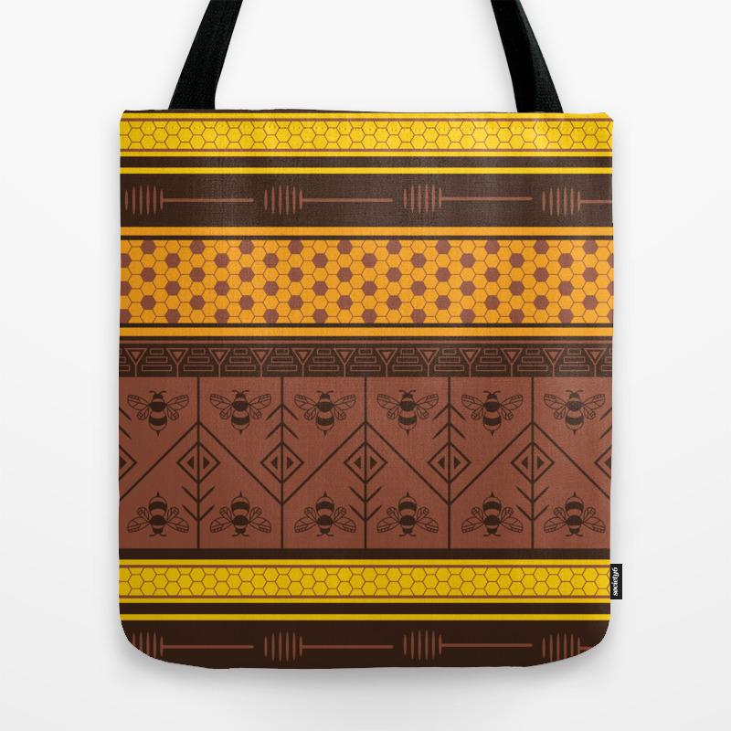 Waxing Poetic Tote Bag by Goddammitstacey TBG8662952