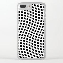 You're Warped! Clear iPhone Case