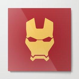 Iron man superhero Metal Print