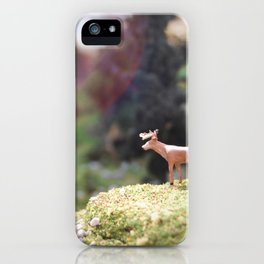 Temporary Happiness part 1 deer iPhone Case