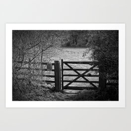 Gate To Bunkers Art Print