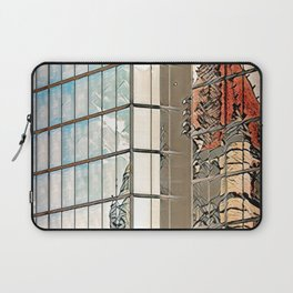 Reflections of Copley Square - Boston, USA Laptop Sleeve