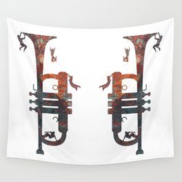 Jazzed Wall Tapestry
