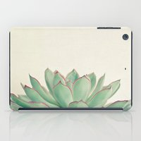 cassia beck iPad Cases featuring Echeveria by Cassia Beck