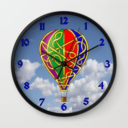 Balloon Knot Wall Clock