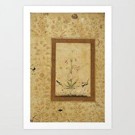 Mughal Art Print