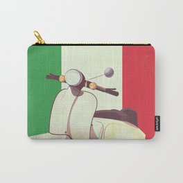 Italia Scooter vintage poster Carry-All Pouch