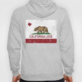 California Heart Republic Love Distressed  Hoody