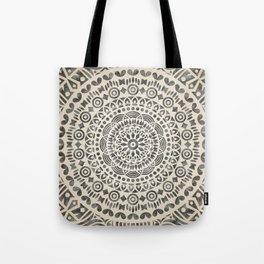 mandala12w Watercolor Mandala Tote Bag
