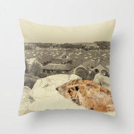 Vintage pasty Throw Pillow