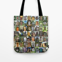 Outhouses Tote Bag