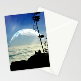Solitude Above The Clouds Stationery Cards
