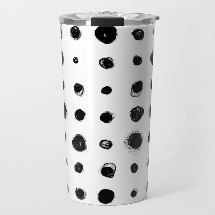 81 Attempts (black) Travel Mug