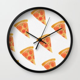 Pizza For Dayz Wall Clock