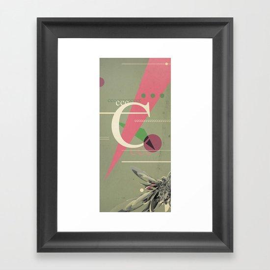 (Times) C Framed Art Print