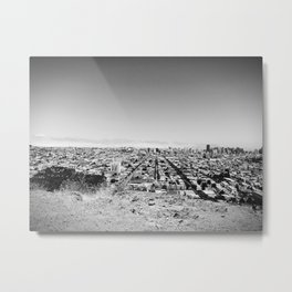 Bernal Hill, SF Metal Print