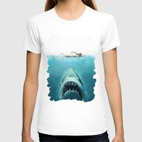 jaws T-shirts featuring JAWS by Smart Friend