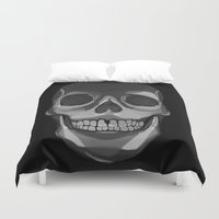 dead Duvet Covers featuring dead. by Kate Pasino