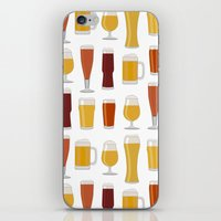 beer iPhone & iPod Skins featuring Beer  by Cute to Boot