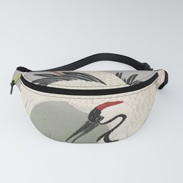 Japanese Crane Fanny Pack