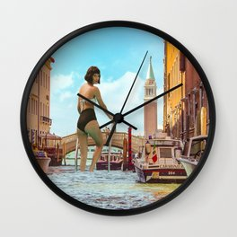 La Piscina Wall Clock