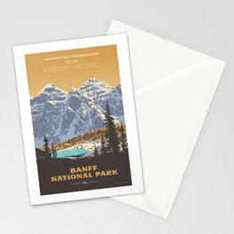 Banff National Park Stationery Cards