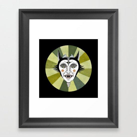 Cat Color Wheel No. 2 Framed Art Print