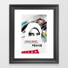 Freedom For Syria Framed Art Print