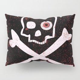 Jolly Roger With Eyeballs Pillow Sham