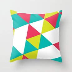 TROPICAL TRIANGLES - Vol 2 Throw Pillow