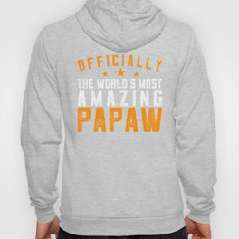 Officially Amazing Papaw Fathers Day Gift Idea Hoody