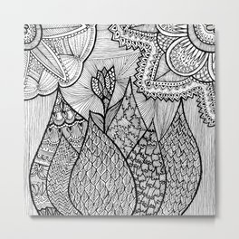 Pimpoi Metal Print