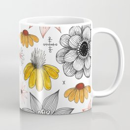 eclectic flower pattern Coffee Mug