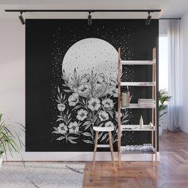 Moon Greeting Wall Mural