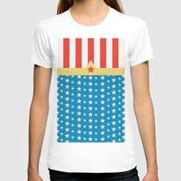 Superhero Wonder Pattern I T-shirt