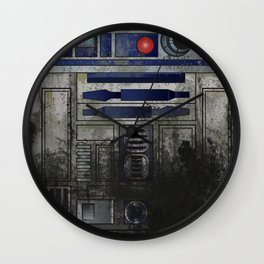 Swamp Droid Wall Clock