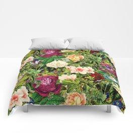 Vintage Floral Garden Comforters