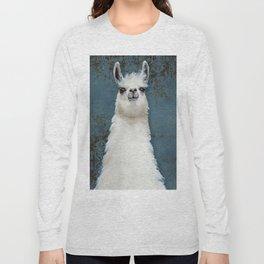 Hello Llama Long Sleeve T-shirt