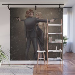 All That Glitters Is Not Gold Wall Mural