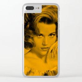 Jane Fonda - Celebrity Clear iPhone Case