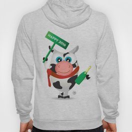 Cow New Year Hoody