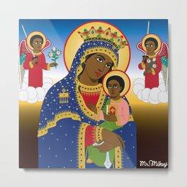 MARY AND CHRIST Metal Print